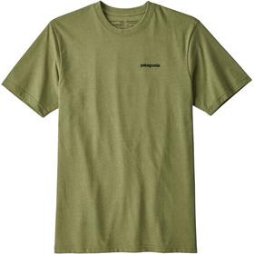 Patagonia P-6 Logo t-shirt Heren olijf
